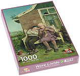 Puzzel 1.000 stukjes, Ware liefde…