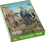 Puzzle 1.000 Stücke, Wetter-chat…