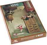 Puzzel 1.000 stukjes, Dansje in d…