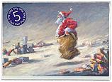 Santa's sack race - 5-Pack
