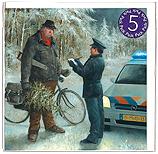 Kerstprent 5-Pack