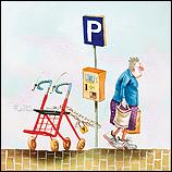 Rollator parkeerplaats