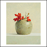 Ginger pot with rose hips