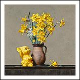 Still life with daffodils