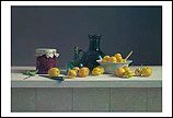 Still life with apricots and cann…