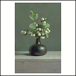 Still life with snowberry