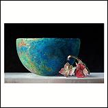 Roman Bowl with Hydrangea II