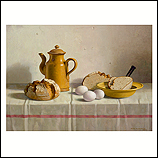 Bread from Emden, eggs and coffee…