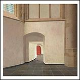 The choir aisle of the Grote Kerk…