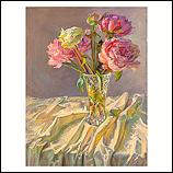The last blooming peonies