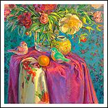 De bloemen en de vogels