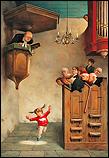 Dansje in de kerk