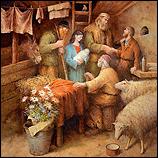Het bezoek van de herders