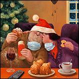 Weihnachtsumarmung