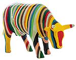 Striped (medium ceramic) Cow Para…