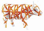 Vaca con Cinta (medium) Cow Parad…