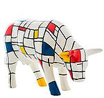 Moondrian (medium ceramic) Cow Pa…
