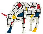 Moondrian (large) Cow Parade