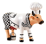 Cow Parade Chef Cow (small)