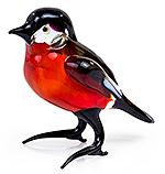 Glazen vogel roodborstje