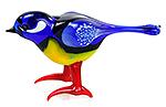 Glazen vogel pimpelmees