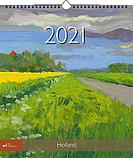 Jaarkalender 2021 Holland