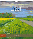 Jaarkalender 2021 Holland