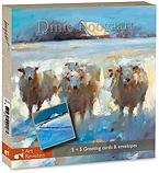 Sheep in the snow + Winter in Fri…