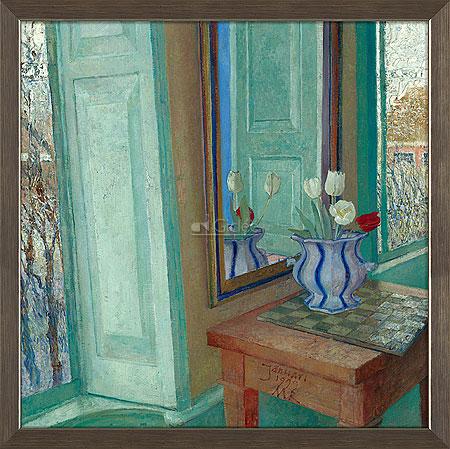 Tulpen in interieur