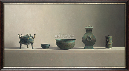 Chinese bronze objects (±1030 B.C. - 220 A.D.)