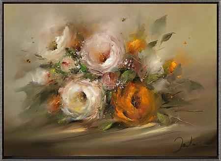 Wit en oranje