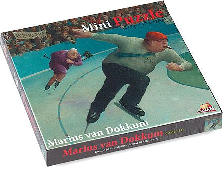 Puzzel 210 ministukjes, Rondje 80 van kunstenaar Marius van Dokkum