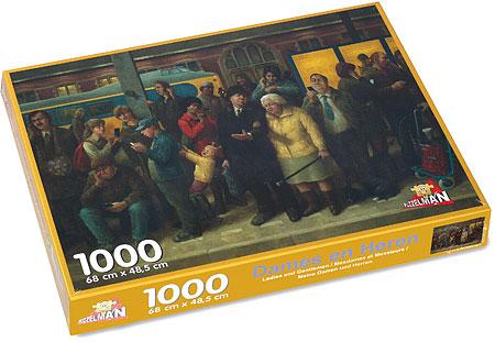 Puzzle 1.000 Stücke, Damen und Herren von Kunstler Marius van Dokkum