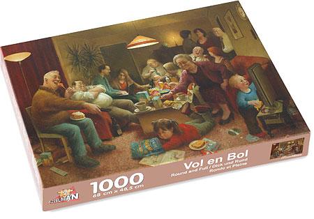 Puzzle 1.000 Stücke, Voll und Bol von Kunstler Marius van Dokkum