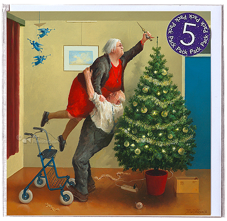 Weihnachtsengel 5-Pack