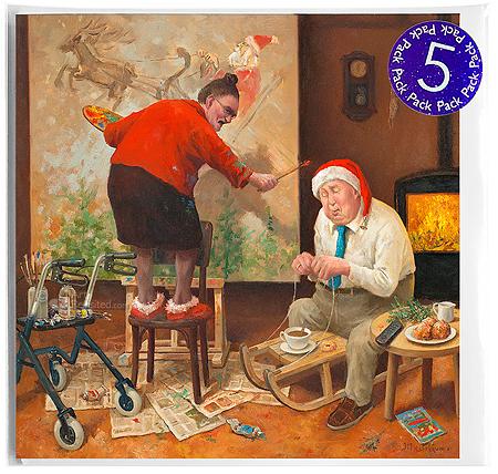 Ho, ho, ho... Wakker blijven! 5-Pack