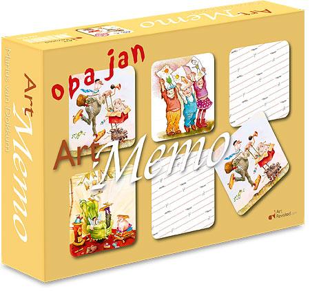 Art Memo - 48 pcs, Opa Jan