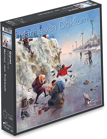 Puzzle - 1000 pcs, A turn on the Ice