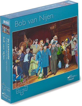 Puzzle - 1000 pcs - A Humorous take on The Night Watch
