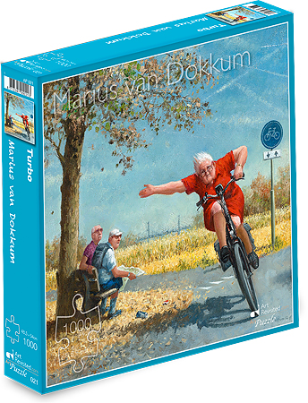 Puzzle DOKKUM - 1000 pcs, Turbo