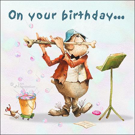 On your birthday...