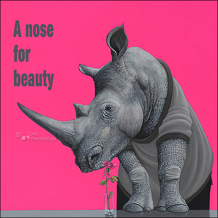 A nose for beauty