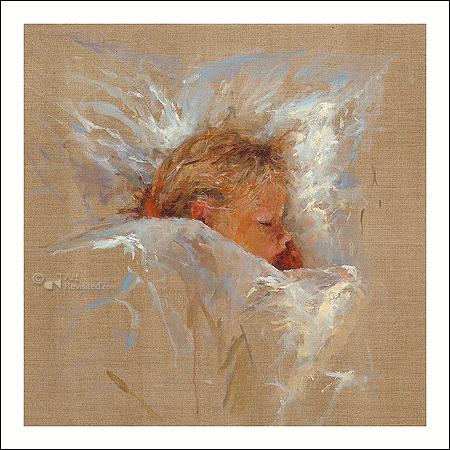 Slapend engeltje