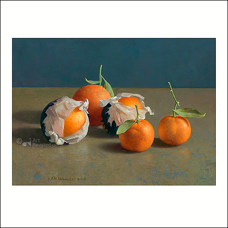 Oranges and tangerines