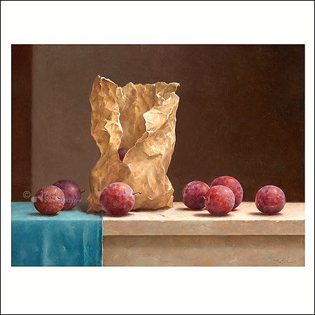 Bag with Plums