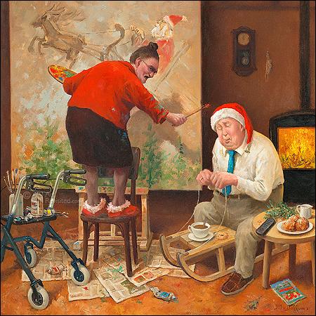 Ho, ho, ho... Wakker blijven!