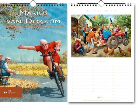 Geburtstagskalender Marius van Dokkum