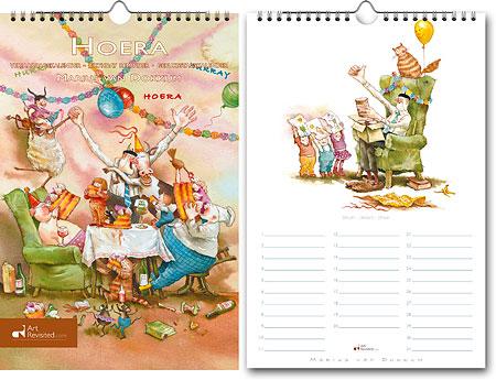 Verjaardagskalender HOERA Marius van Dokkum