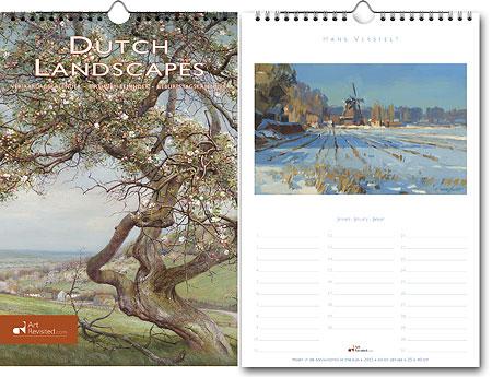 Verjaardagskalender Dutch Landscapes