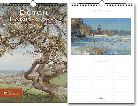 Verjaardagskalender Dutch Landscapes